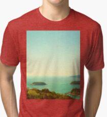 Ocean landscape Tri-blend T-Shirt