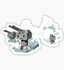 Kantai Collection Rensouhou Pixel Art Sticker