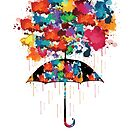 Rainbow rainy day by cheeckymonkey