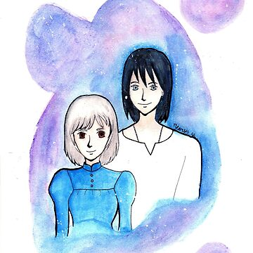 Sophie and Howl by ilerys