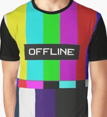Offline Analog Graphic T-Shirt