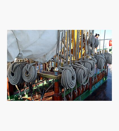 All is shipshape Photographic Print