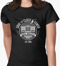 Save The Clock Tower  Women's Fitted T-Shirt