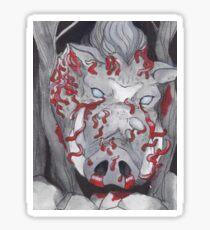 Okkoto Boar God  Sticker