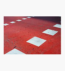 Road Markings Photographic Print