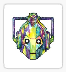 Galaxy Cyberman Sticker