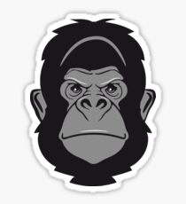 Gorilla ape cool Sticker