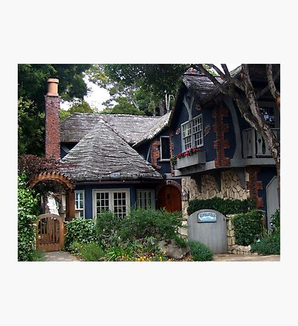 Dream Cottage in Carmel-by-the-sea Photographic Print