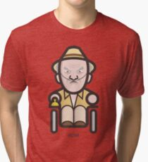 Breaking Bad Icon Set - HECTOR SALAMANCA Tri-blend T-Shirt