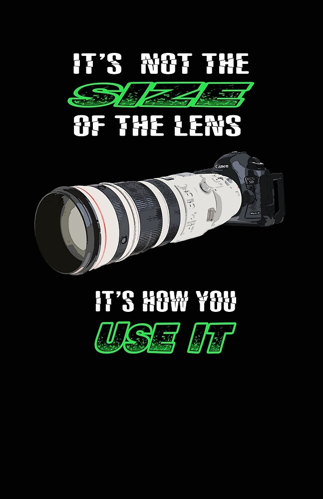 Size of the lens by Lazyfish