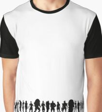 mass effect character silhouettes Graphic T-Shirt