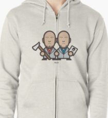 Breaking Bad Icon Set - MARCO&LIONEL Zipped Hoodie