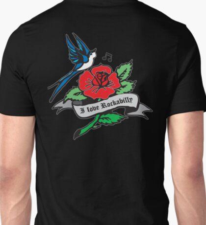 Rockabilly Red Hot Retro Tattoo  T-Shirt