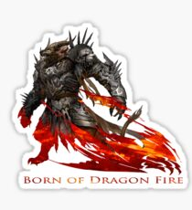 Guild Wars 2 - Born of Dragon Fire Sticker