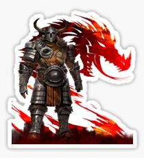 Guild Wars 2 - Nord Man Sticker