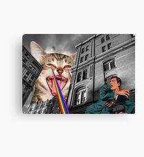 THE CAT STRIKES BACK Canvas Print