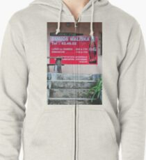 Sign South Pacific Zipped Hoodie