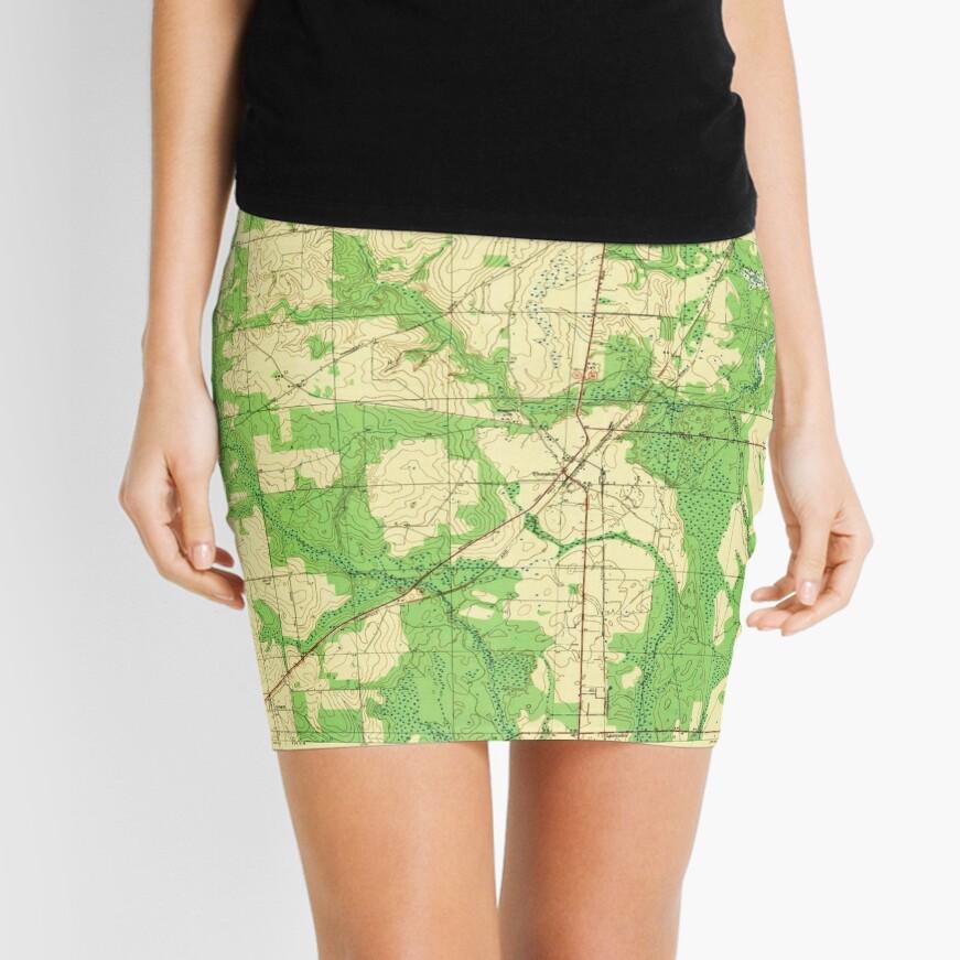 USGS TOPO Map Alabama AL Theodore 305446 1943 Minirock