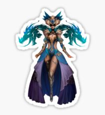 Guild Wars 2 - Human Elementalist Sticker