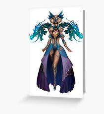 Guild Wars 2 - Human Elementalist Greeting Card