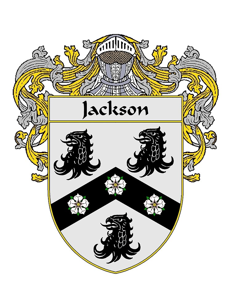 Jackson Coat of Arms/Family Crest by William Martin