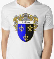 Jenkins Coat of Arms/Family Crest Men's V-Neck T-Shirt