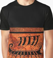 ancient Greece longship Graphic T-Shirt