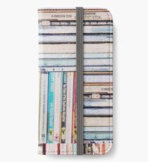Books Vintage iPhone Wallet