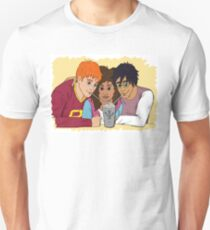 The Golden Trio share a hot cocoa Unisex T-Shirt