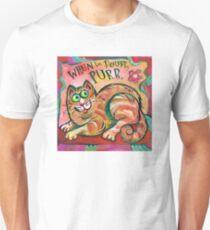Cat: When in Doubt, Purr Unisex T-Shirt
