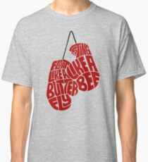 Float Like A Butterfly, Sting Like a Bee (Red) Classic T-Shirt