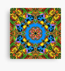 Abstract Balance of Color Canvas Print