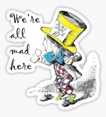 Mad Hatter Tea Party  Sticker