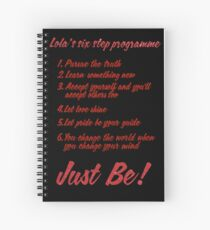 The Kinky Boots Secret to Success Spiral Notebook