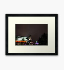 Here's to the future. Framed Print