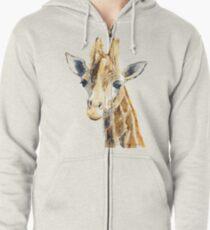 Giraffe  Zipped Hoodie