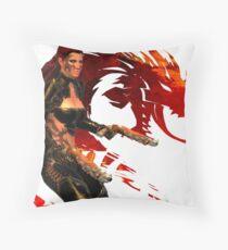 Guild Wars 2 - A human shooter Throw Pillow