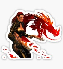 Guild Wars 2 - A human shooter Sticker