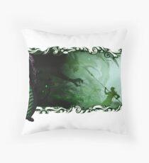 Guild Wars 2 - A sylvari story Throw Pillow