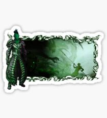 Guild Wars 2 - A sylvari story Sticker