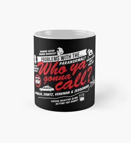 Who Ya Gonna Call? Ghostbusters! Mug