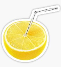 Lemon juice Sticker