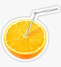 Orange juice Sticker