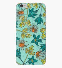 Alpine-Columbine bloom Pattern iPhone Case