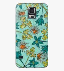 Alpine-Columbine bloom Pattern Case/Skin for Samsung Galaxy