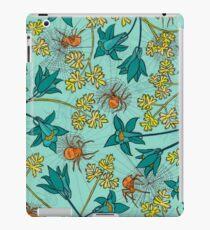 Alpine-Columbine bloom Pattern iPad Case/Skin
