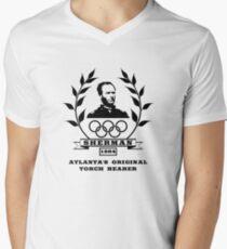 General Sherman - Atlanta's Original Torch Bearer Men's V-Neck T-Shirt