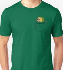 Caveman Spongebob (Primitive Spongegar) Pocket Shirt - Spongebob T-Shirt