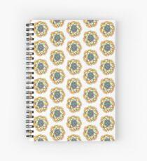 Kaleidoscopic Spiral Notebook