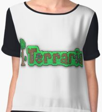 Terraria Logo Women's Chiffon Top